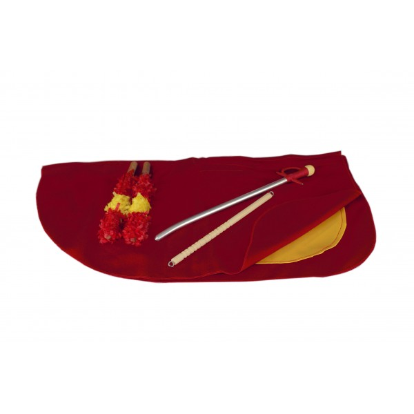 Muleta infantil 50 cm con banderillas