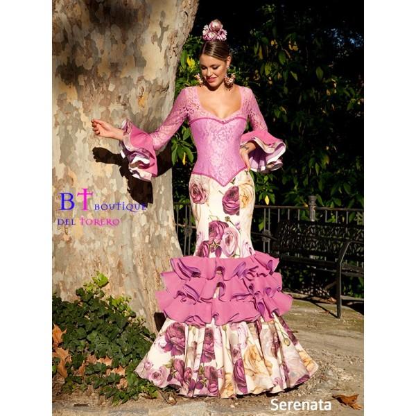 Traje de flamenca de calidad