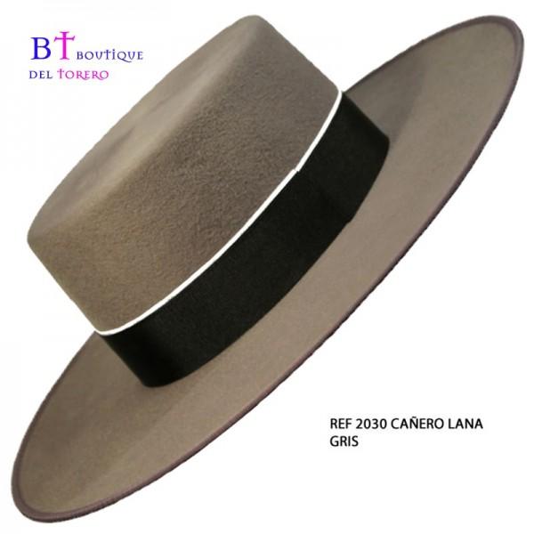 Sombrero cordobés gris
