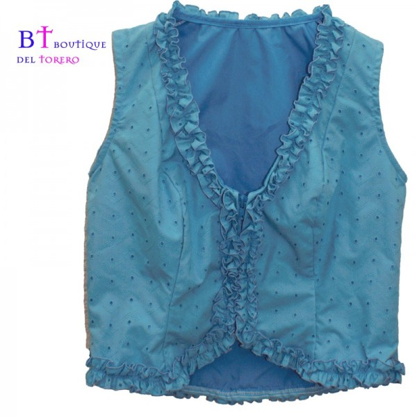 Camisa flamenca sin mangas