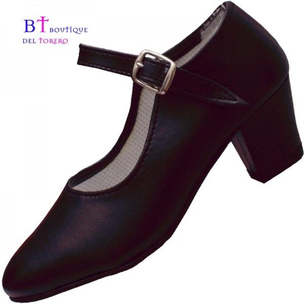 Zapato flamenco negro barato