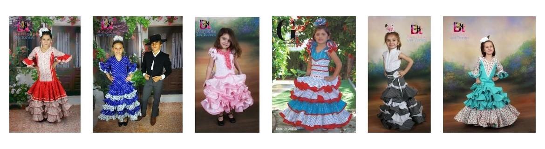 Trajes de flamenca niña outlet