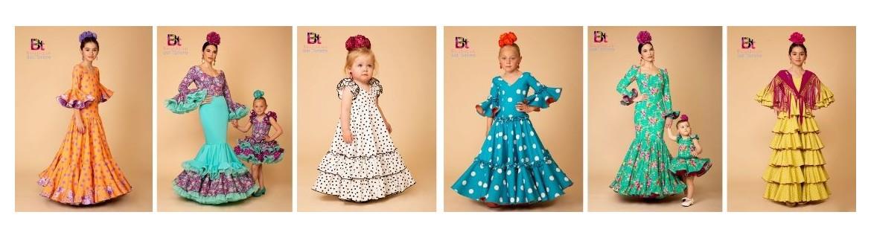 Flamenco dresses girl