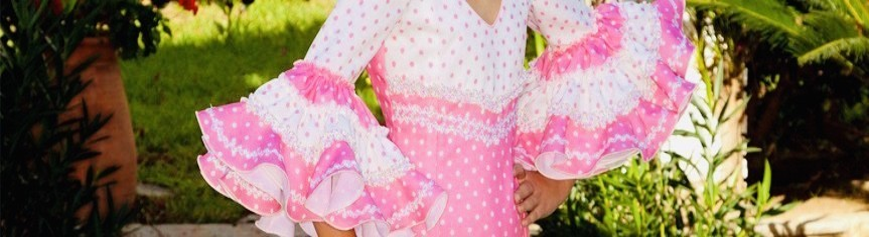 Vestidos de flamenco menina