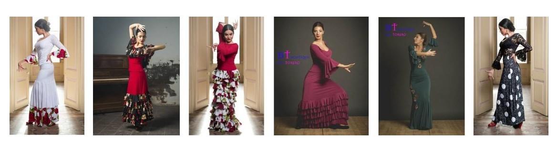 Flamenco rehearsal skirts