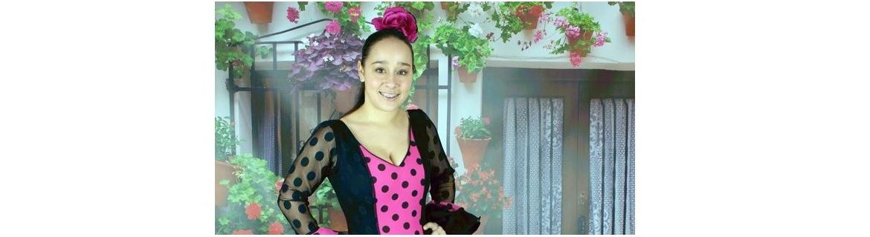 Vestido de flamenco tamanho 38