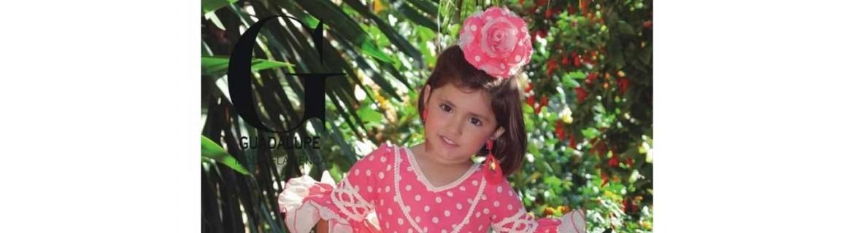 Edad de 2 a 3 años. Trajes de flamenco niñas.