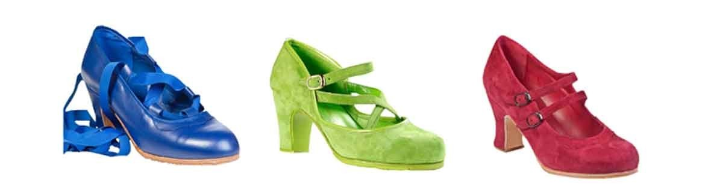 Zapatos profesionales de baile flamenco