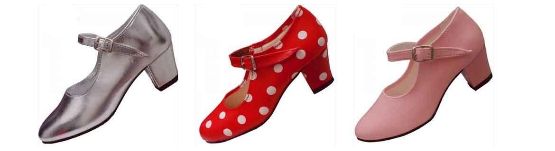 Zapatos de baile flamenco niñas